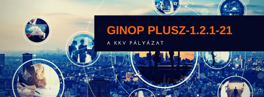 GINOP Plusz-1.2.1-21 pályázat